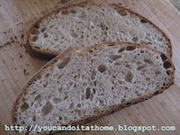 Vermont Sourdough with Increased Whole Grain
