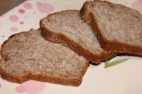 Strawberry Orange Mini Loaf Vegan