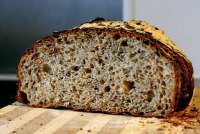 Wholemeal Rosemary and Caraway Bread