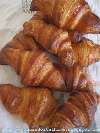 Croissant made with Poolish