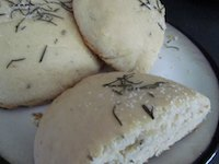 Vegan Rosemary Bread