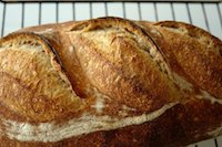 simple bread 1:2:3 flo's method