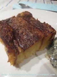 Croissant Bread Pudding