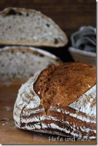 Light Wheat-Spelt Bread with Sourdough