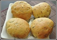 Khara Buns/ Savory buns with herb and spice