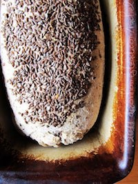 Whole Wheat Linseed Sesame Sourdough Bread
