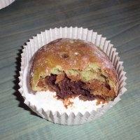 Almost Fatfree Wholemeal Matcha-Choco buns