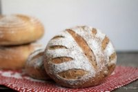 Honey sesame & walnut bread