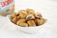 Peanut butter soft pretzel bites