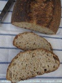 Wheaty Sourdough with bulgur, wheat berry & germ