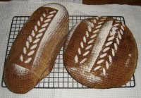Loaves with Teff Flour in Sourdough Starter