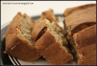 Moist Banana Bread (Eggless)