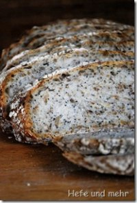 Sourdough Bread with roasted Grains and Seeds