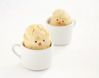 Chicks in cups