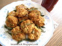 Baked Vegetable Fritters