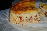 Quiche Tartine