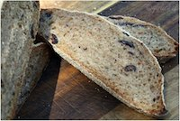 Spicy Kalamata Sourdough Loaf