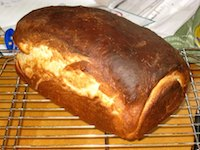 Bernard Clayton's Hearty White Bread, Less Hearty