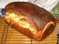 Bernard Clayton's Hearty White Bread, Less Hearty