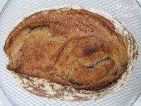 Rye bread, caraway, orange and sourdough