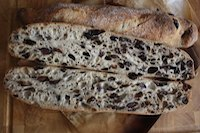 baguettes in olive & thyme