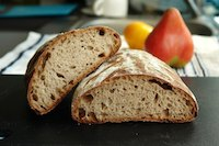 50 Percent Rye Levain with fennel seeds
