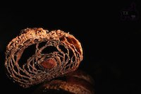 Double Chocolate Croissant with Sourdough Starter