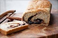 Cinnamon Raisin Swirl Banana Bread