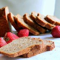 Strawberry Mango Wheat & Quinoa Mini Loaf