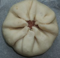 Homemade Steamed Meat Buns