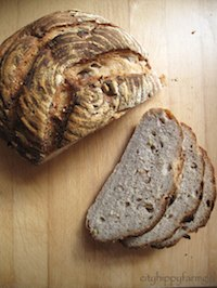 Apple and Oat Bread