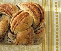 Nutella and Peanut Butter Stripe Bread