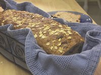 Cinnamon Raisin Oatmeal Bread