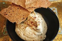 Buckwheat Olive Oil Crackers