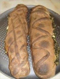 Feta and Spinach Sourdough Stromboli