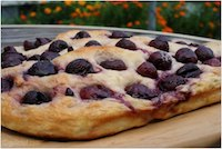 Sweet Cherry Focaccia