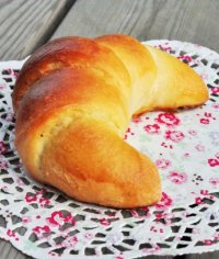 Italian Croissants with Briosche Dough