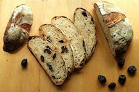 Roasted Hazelnut and Prune Bread
