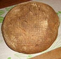 Whole Spelt and Wheat Sourdough Boule