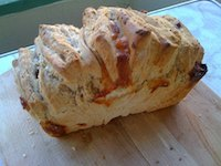 Garlic Mozarella Pull-Apart Bread