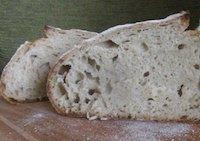 Sourdough bread 70% hydration