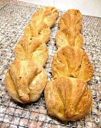 Malted Grain Dragon Tail Baguettes