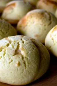 Pandan 'Rotiboy' Mexican buns
