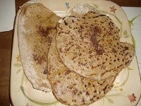 Sourdough Spelt Flat Breads with Za'atar