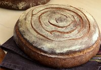 Miche with Whole Wheat Starter