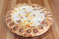 Pizza and Hot Dog Pie