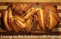 Lemon-Scented Pull-Apart Bread