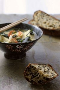 Miso Rye Sourdough with Seaweed