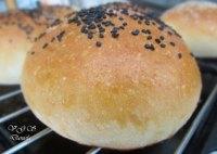 Hamburger buns sourdough
