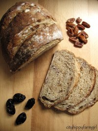 Pecan and Prune Bread
